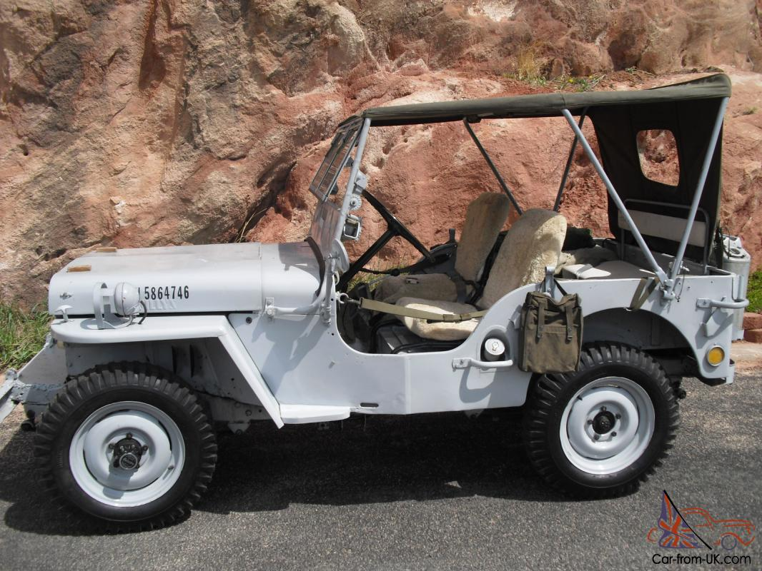 1946 Willys Jeep Cj2a Wwii Military Us Navy Jeeps On Filter Box
