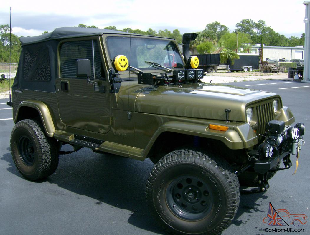 1989 Jeep Wrangler Yj With Small Block Chevy