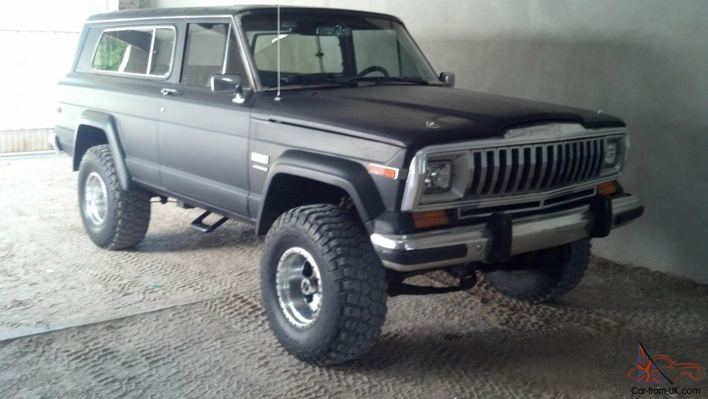 Jeep Wagoneer For Sale >> Jeep Cherokee ( wagoneer ) 1982 chevrolet camaro lt1 ...