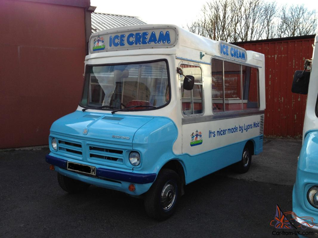 Rare Original Cummins Classic Bedford Cf Ice Cream Van  LEZ