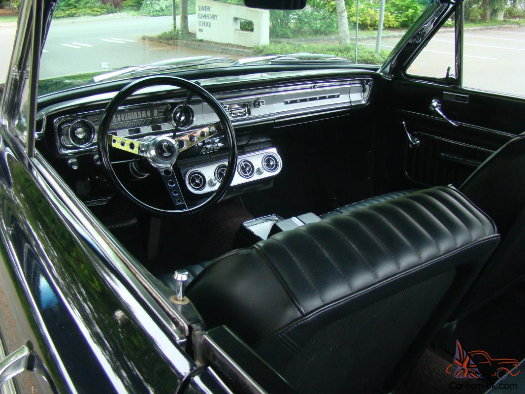 1965 ford falcon real deal sprint born black pristine car not mustang
