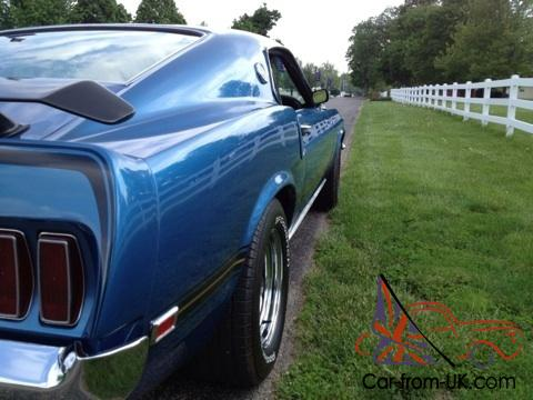You are bidding on a 1969 Ford Mustang Mach 1 428 Cobra Jet Ram Air R