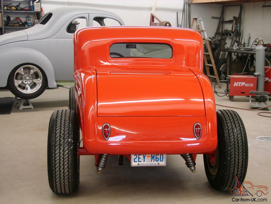 1932 ford 5 window coupe fiberglass body power windows for 1932 ford 5 window coupe body
