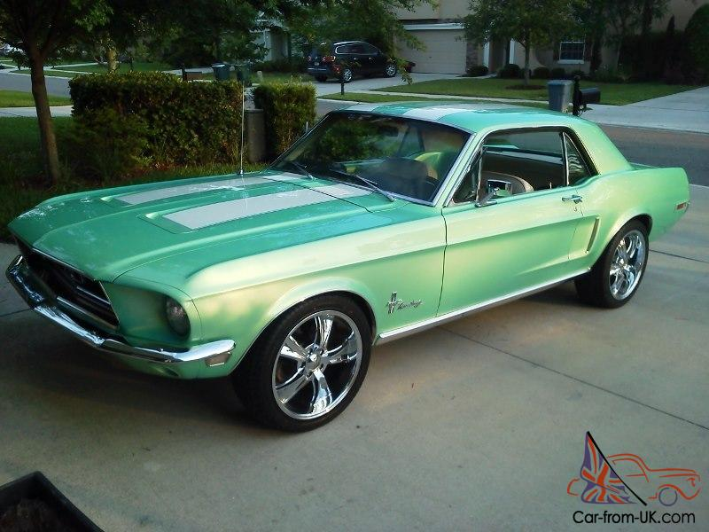 Ford Mustang Coupe 1968 Show Car