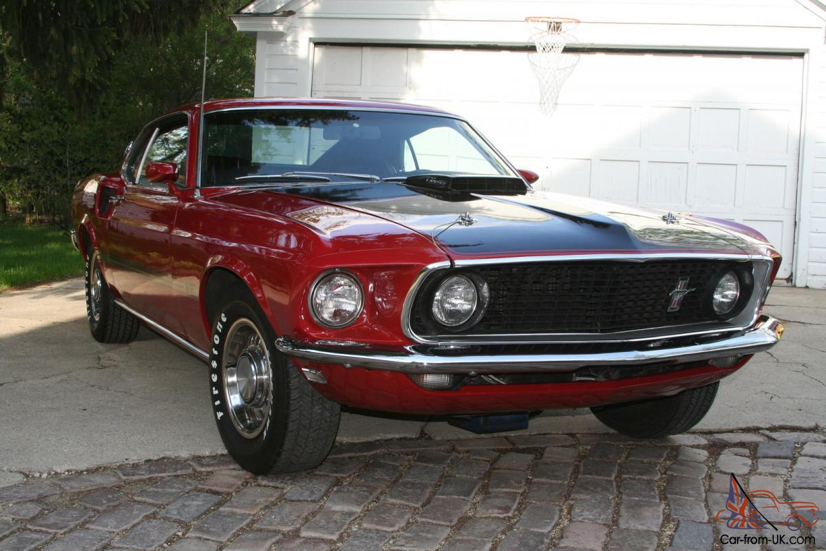 1969 Mach 1 428 Super Cobra Jet