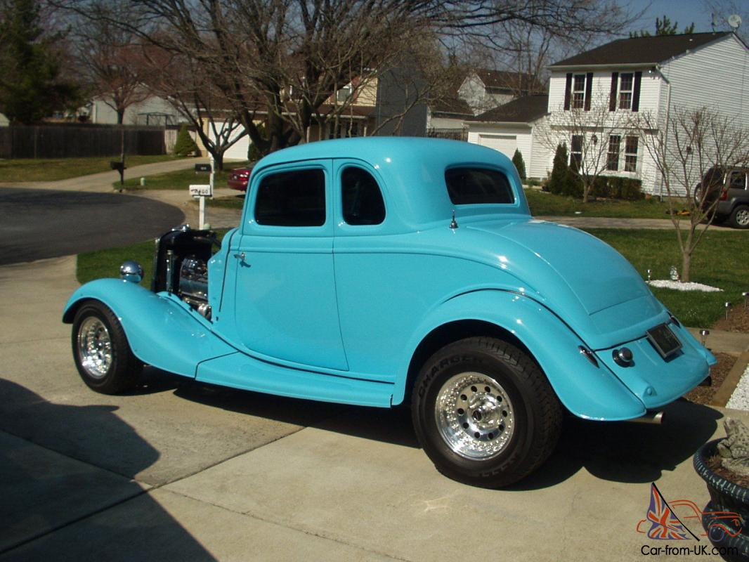 1934 ford 5 window coupe street rod kit Car Pictures