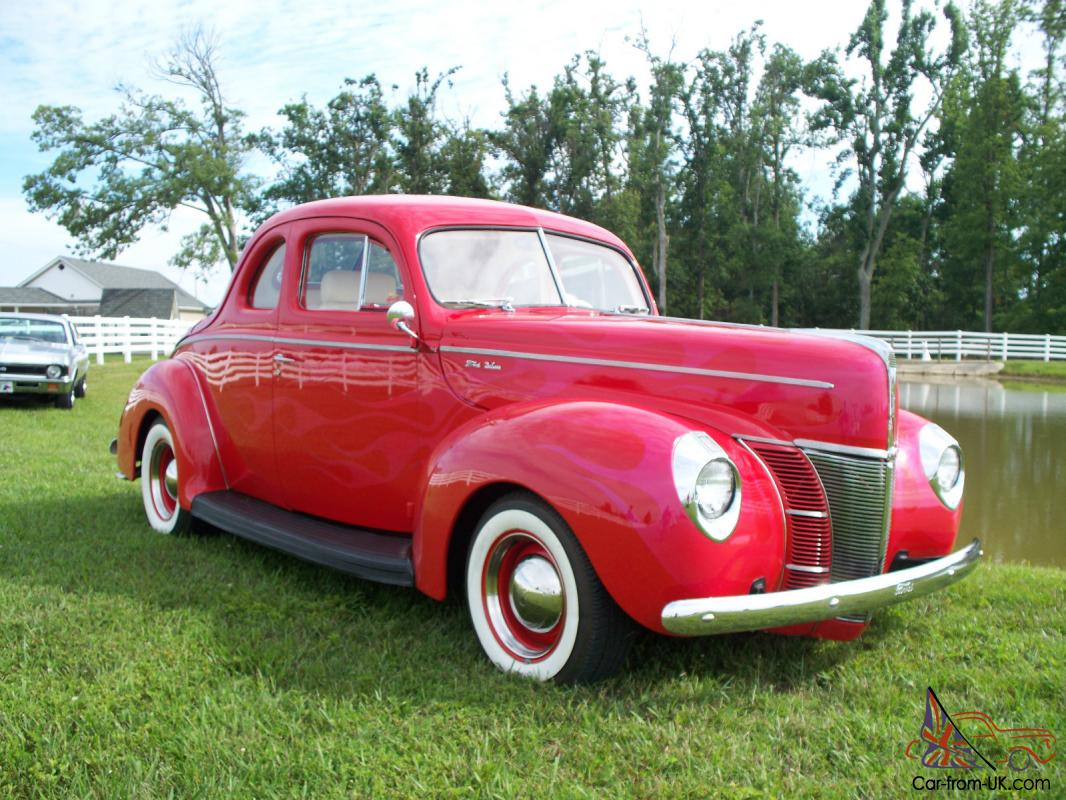 1940 ford coupe all steel hot rod street rod must see and drive for