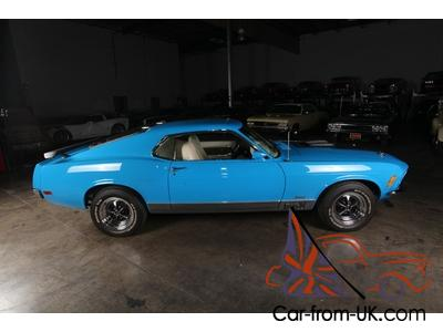 1970 428 Cobra Jet Mach 1Highly RestoredGrabber BlueCollectible