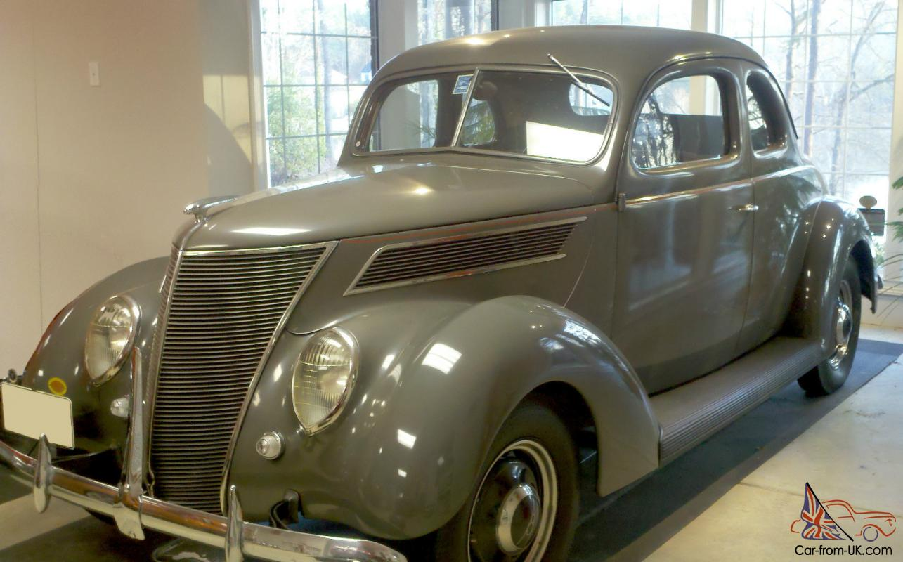 1937 ford five window coupe original little old lady owned it until 1969. Black Bedroom Furniture Sets. Home Design Ideas