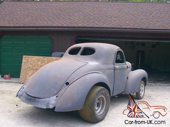 41 steel willys coupe nostalgia gasser street rod race car magnesium