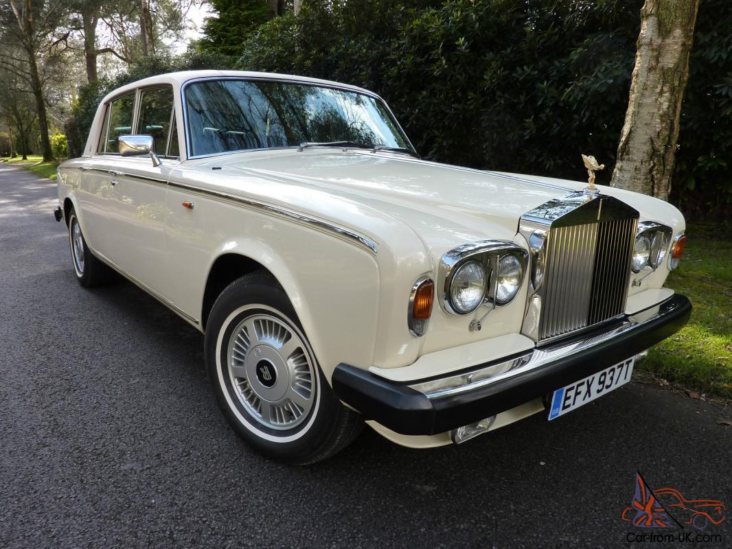 1979 rolls royce silver shadow ii in stunning ivory body. Black Bedroom Furniture Sets. Home Design Ideas