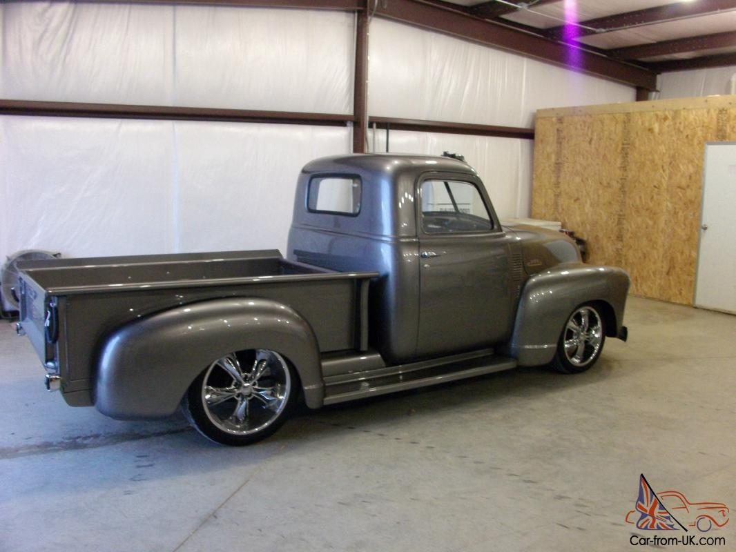 1950 Chevrolet Pick Up Truck 3100 Series New Build