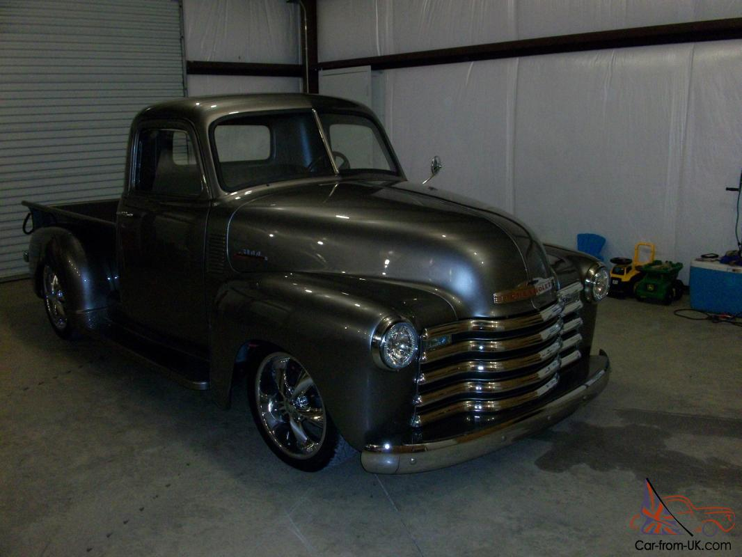 1950 chevrolet pick up truck 3100 series new build must see. Black Bedroom Furniture Sets. Home Design Ideas