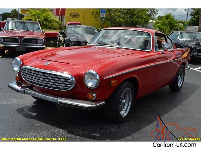 Classic 1969 Volvo 1800S Sports Coupe A/C 2.0L B20B 4-Speed