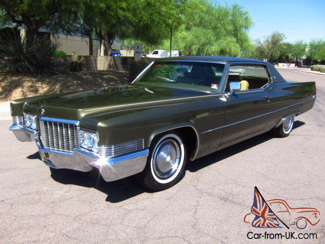 1970 Cadillac Coupe Deville Only 12k Original Miles Like New