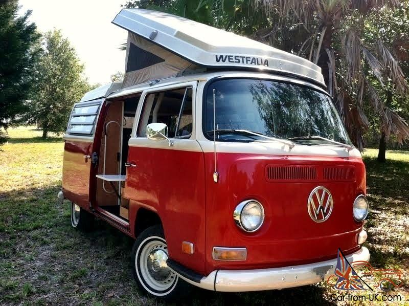 70 vw bus westfalia camper van kombi campmobile pop top rv. Black Bedroom Furniture Sets. Home Design Ideas