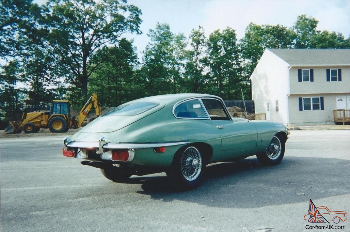 1971 jaguar e type fhc 2 seater xke with many extra parts for sale