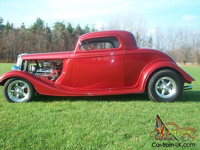 red hot 34 ford 3 window coupe. Black Bedroom Furniture Sets. Home Design Ideas
