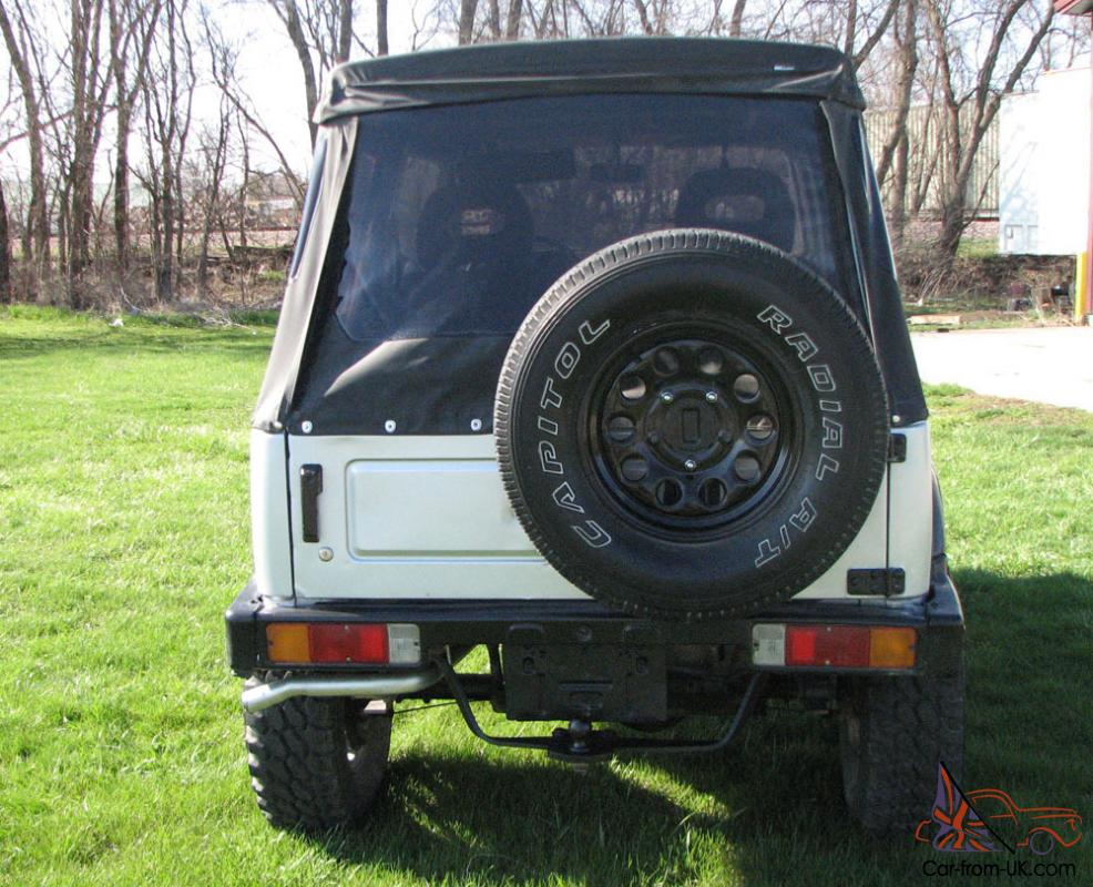 Suzuki Samurai Lifted For Sale