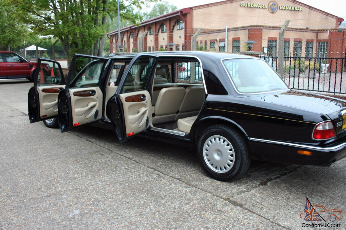 Black 1998 Daimler 6 Door Limousine By Wilcox Eagle 4 O V8