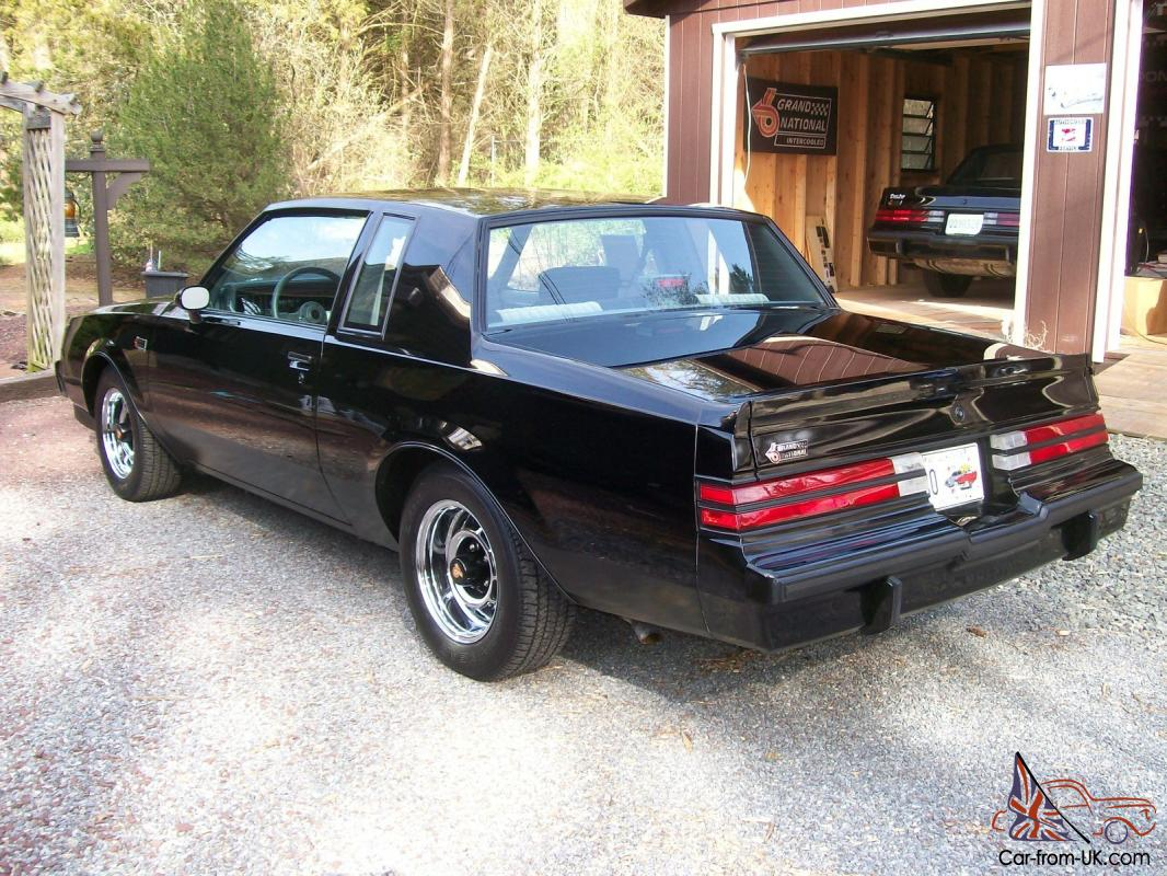 this auction is for a 1986 buick grand national with. Cars Review. Best American Auto & Cars Review