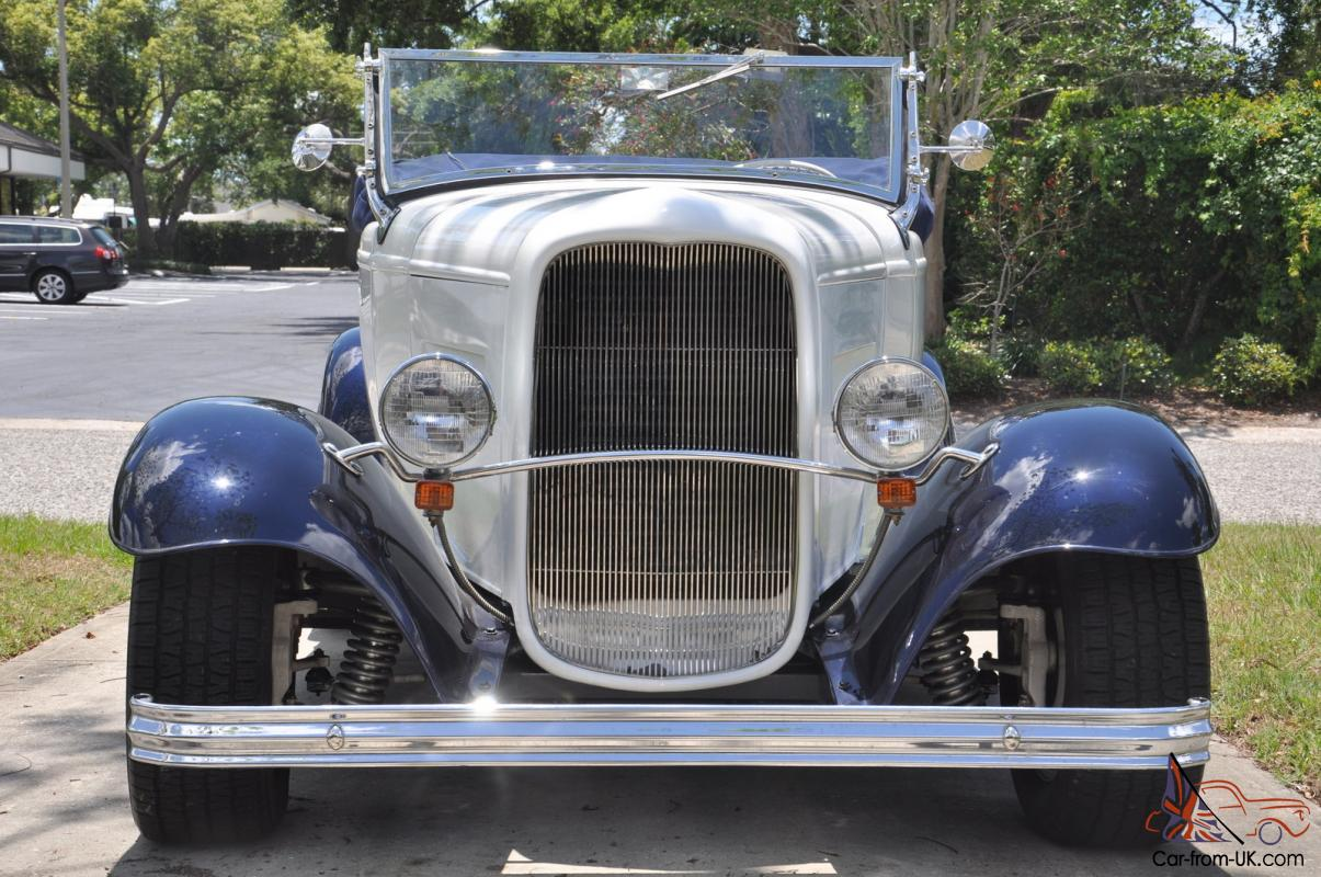 1932 Ford Roadster Steel Body Convertible