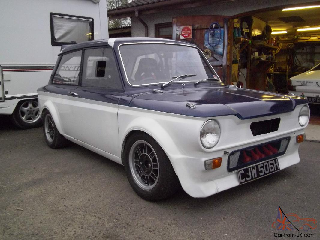 hillman imp sunbeam singer historic rally race car
