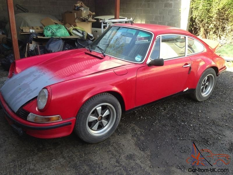 1968 Porsche 911 RHD Barn Find For Restoration