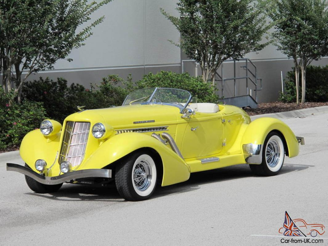 1936 auburn boattail speedster replica by speedster motorcar company. Black Bedroom Furniture Sets. Home Design Ideas