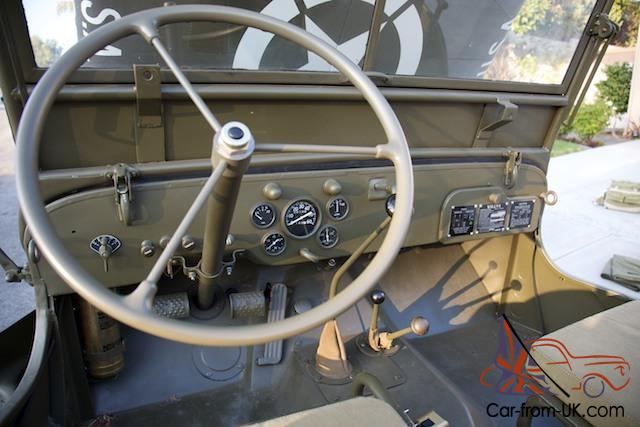 1943 Jeep Willys Mb Gpw Military