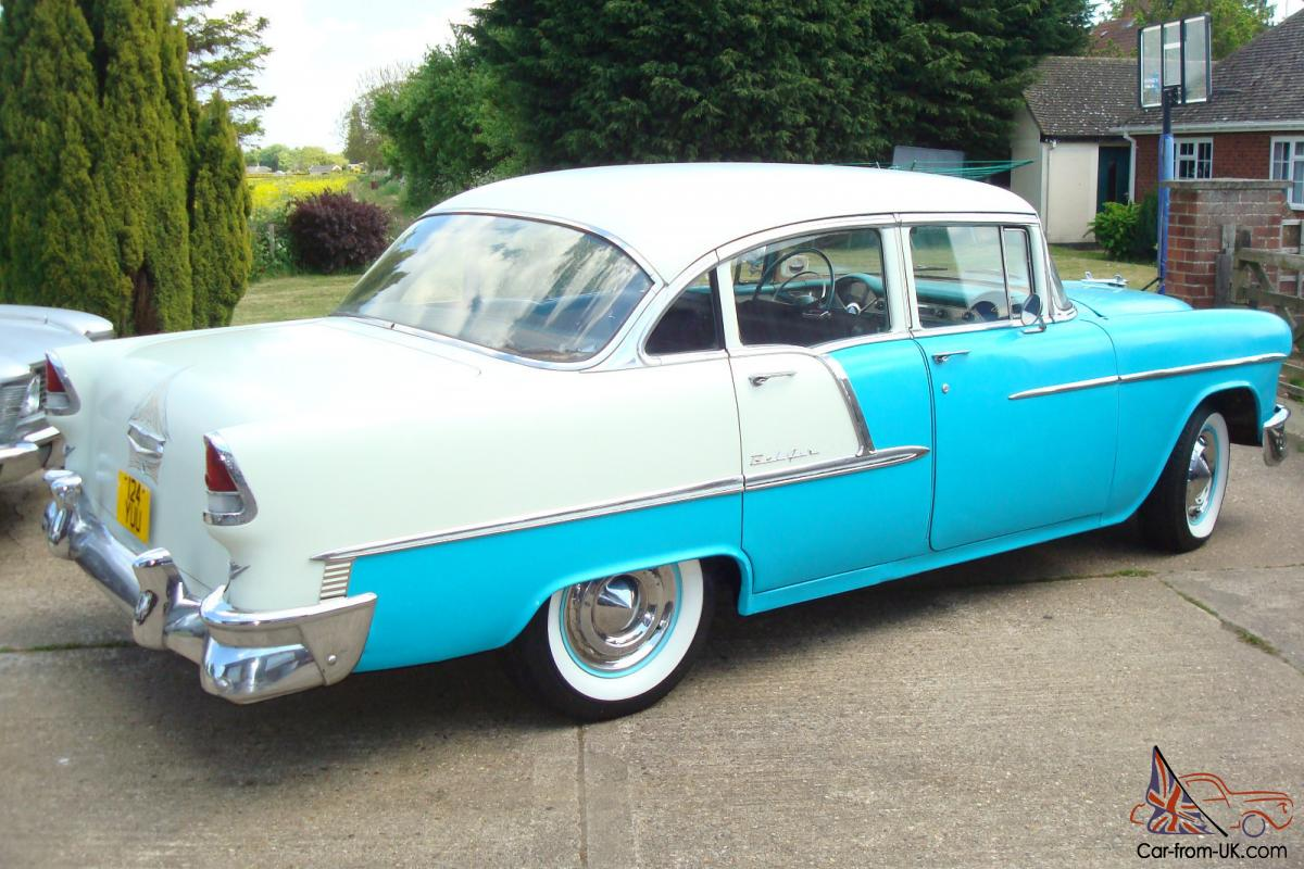1955 chevrolet belair 283 v8 manual 4 door cheap