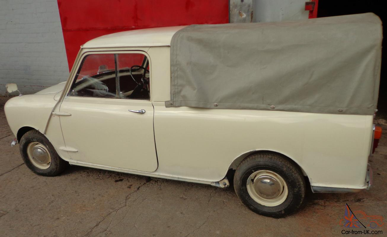 1964 Mk1 Austin Mini Pick Up 41000 Miles 95