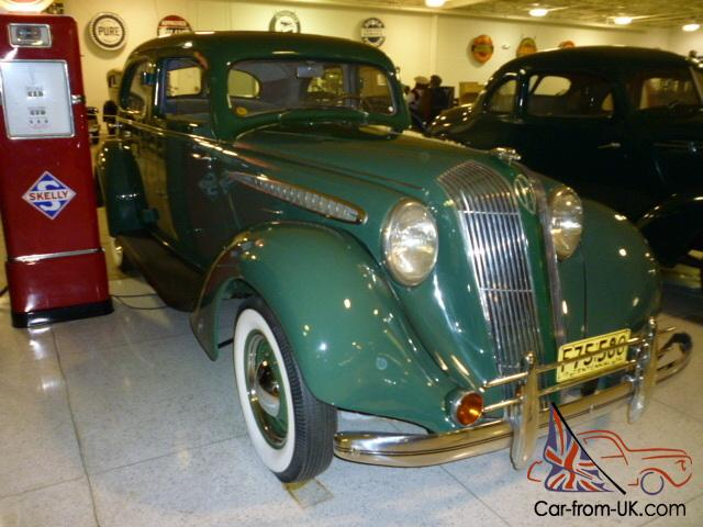 1936 hupmobile 4 door not chevrolet ford dodge chysler for 1936 buick 4 door sedan