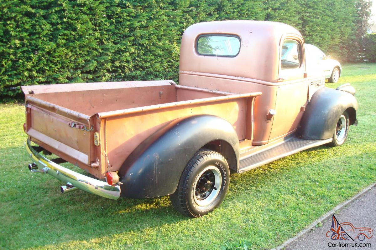 1946 chevy stepside with front clip and modern running gear