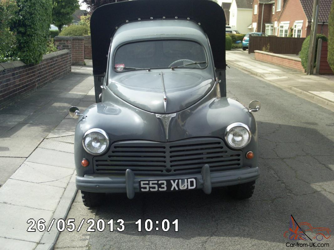 peugeot 203 pickup 1955 fantastic condition. Black Bedroom Furniture Sets. Home Design Ideas
