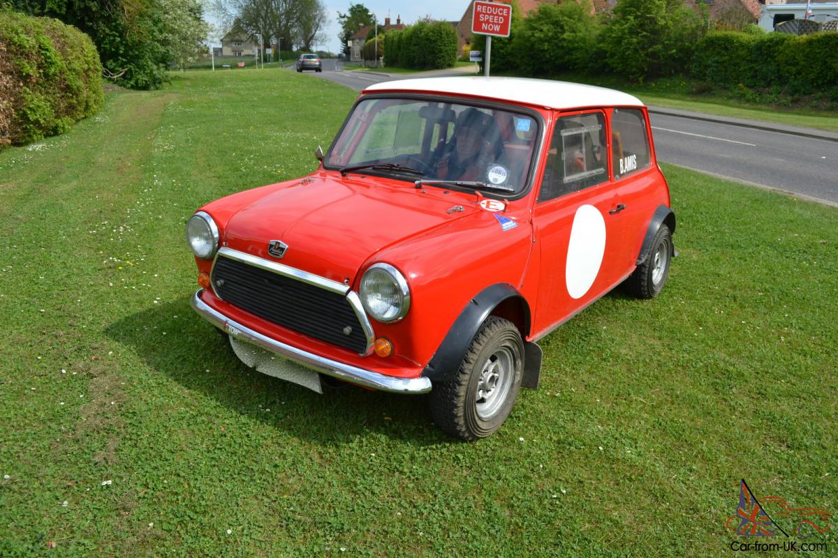 classic mini rally car road legal fast very high spec. Black Bedroom Furniture Sets. Home Design Ideas