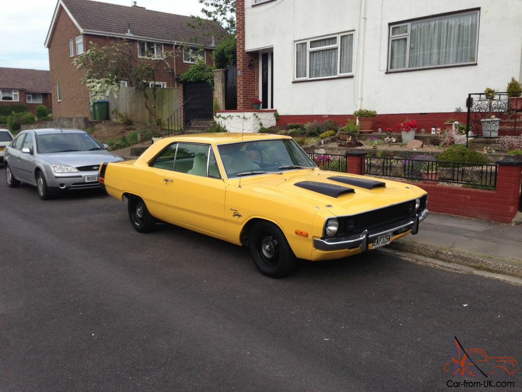 Dodge dart swinger 2 door coupe