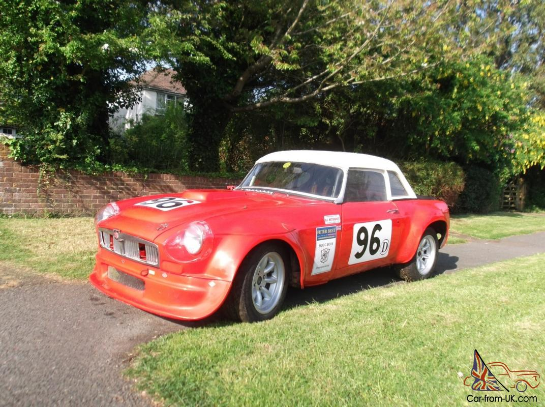 MGB Lightweight Race Car (V8 Bodied)