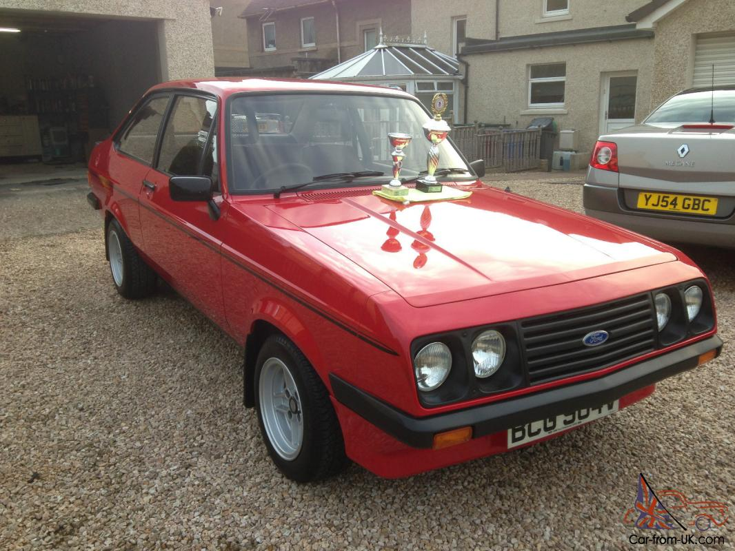 Concours 1980 ford escort mk2 RS 2000 concours condition only ...