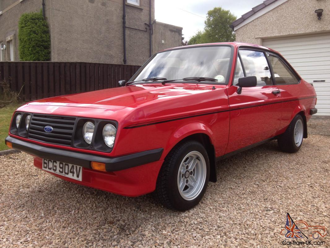concours 1980 ford escort mk2 rs 2000 concours condition. Black Bedroom Furniture Sets. Home Design Ideas