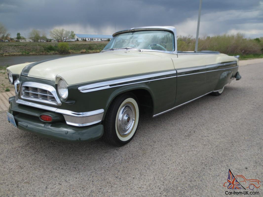 1955 Chrysler New Yorker Roadster One Of A Kind Show Condition Wiring Antique Car
