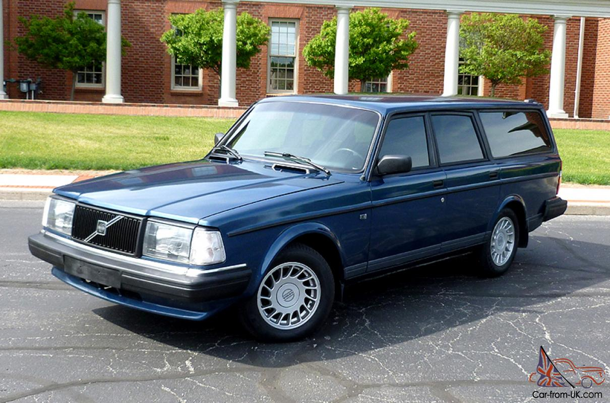 volvo 240 245 wagon 1988 full restoration 15k. Black Bedroom Furniture Sets. Home Design Ideas
