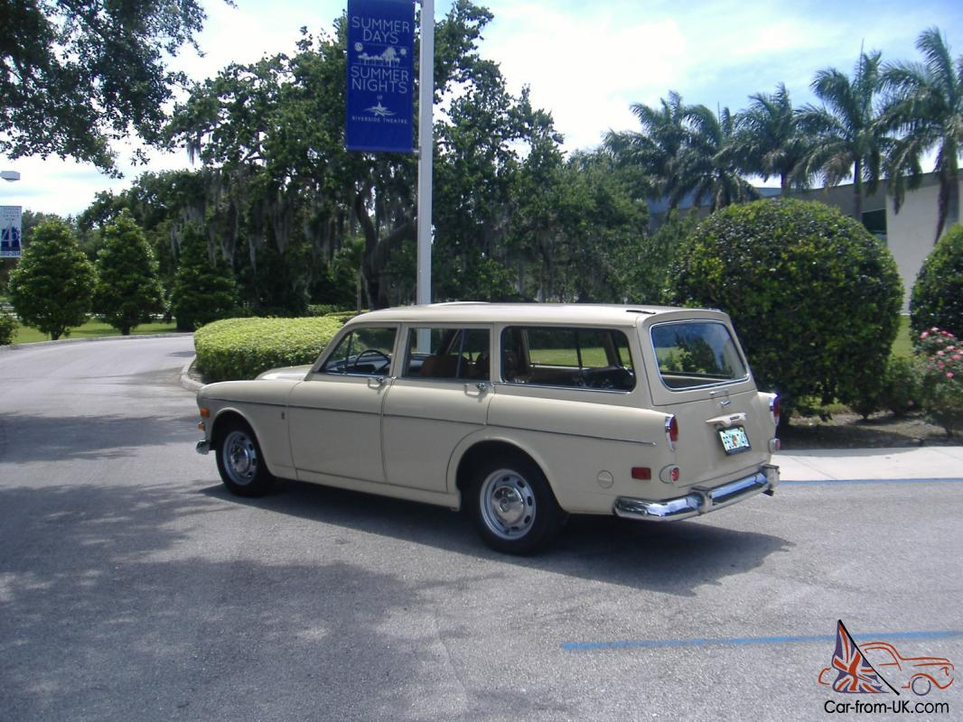 volvo 122s wagon rustfree two owner california car. Black Bedroom Furniture Sets. Home Design Ideas