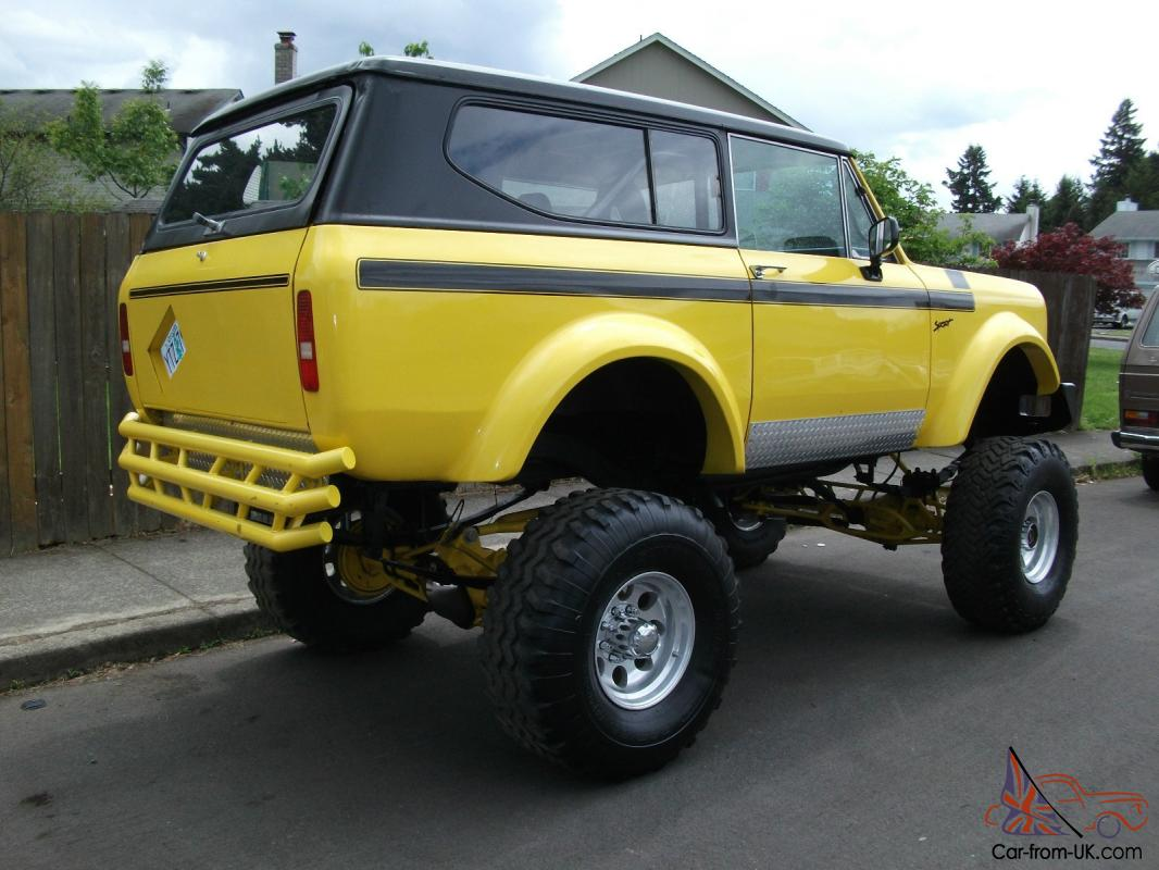 ... 1979 International Scout II 4x4 20 inch Lift ...