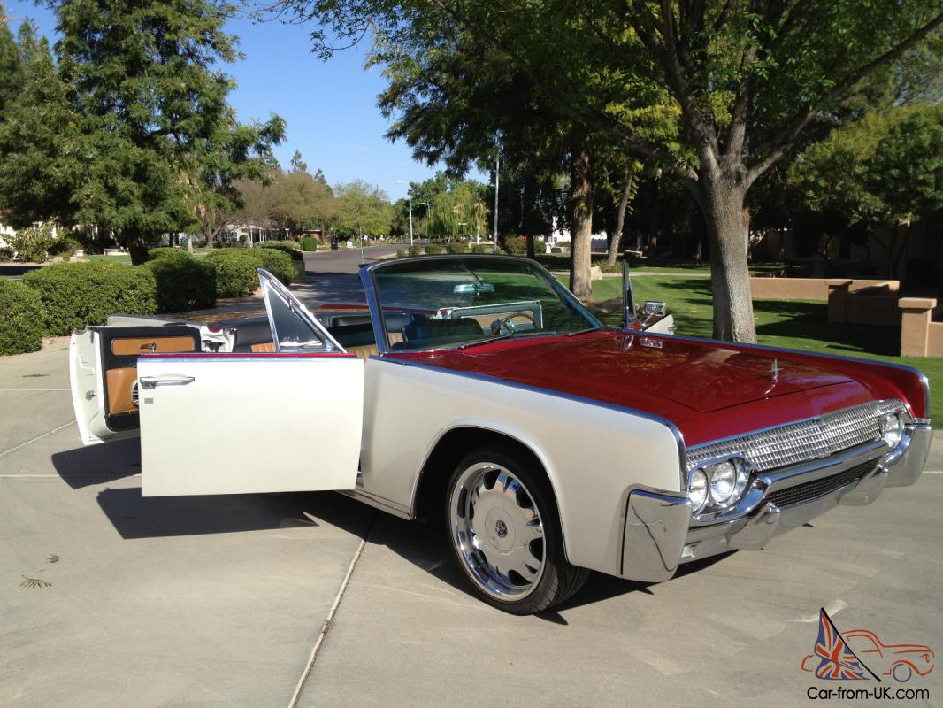 1961 lincoln continental convertible suicide doors for American classic motor cars