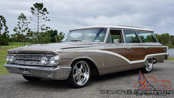1963 Mercury Monterey Colony Park Woody Wagon Suit Ford