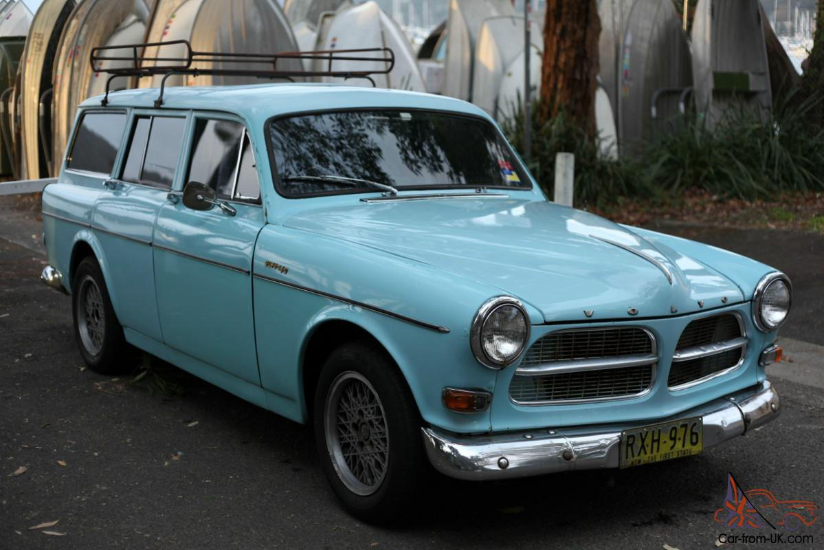 1963 volvo 122 amazon wagon 122s original light blue vw 1600 holden fj ek ej eh. Black Bedroom Furniture Sets. Home Design Ideas
