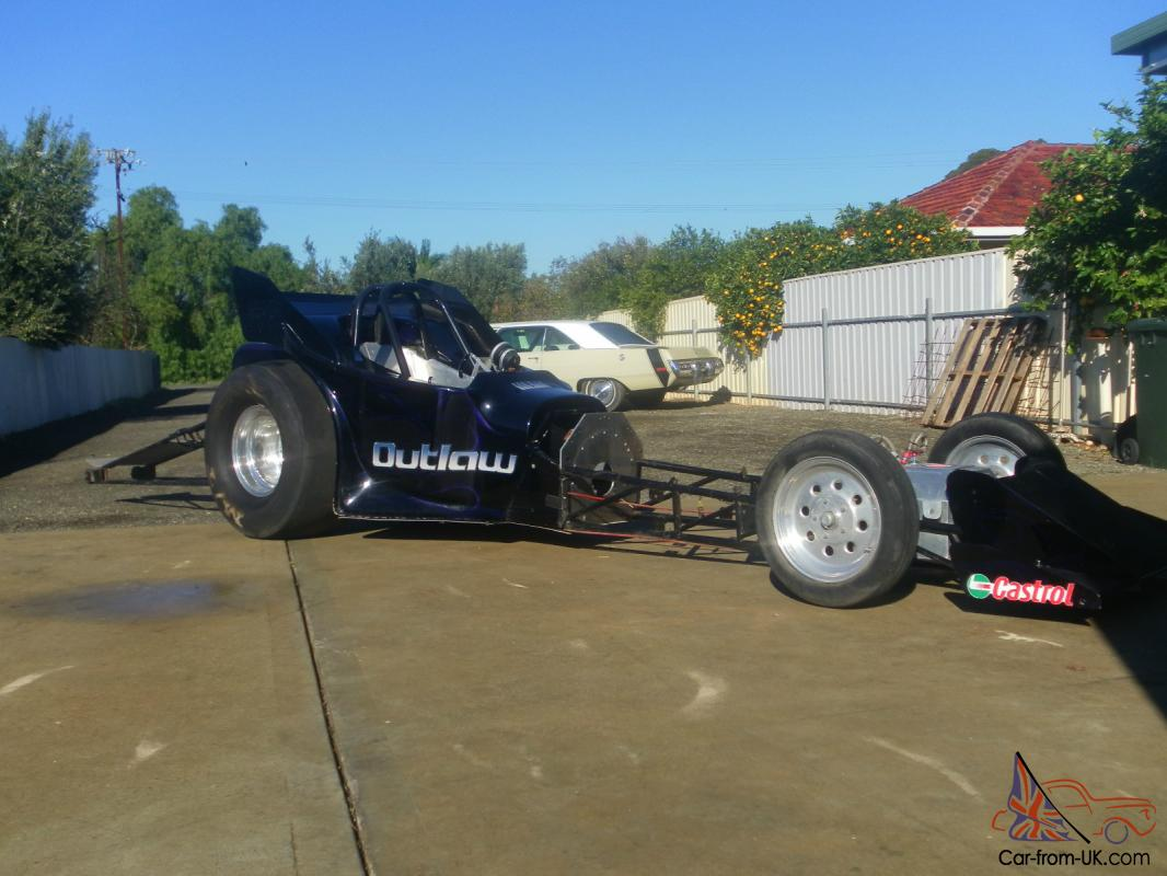 Mark Willams Chrome Moly Altered Chassis Ex Outlaw Drag Car Race Show