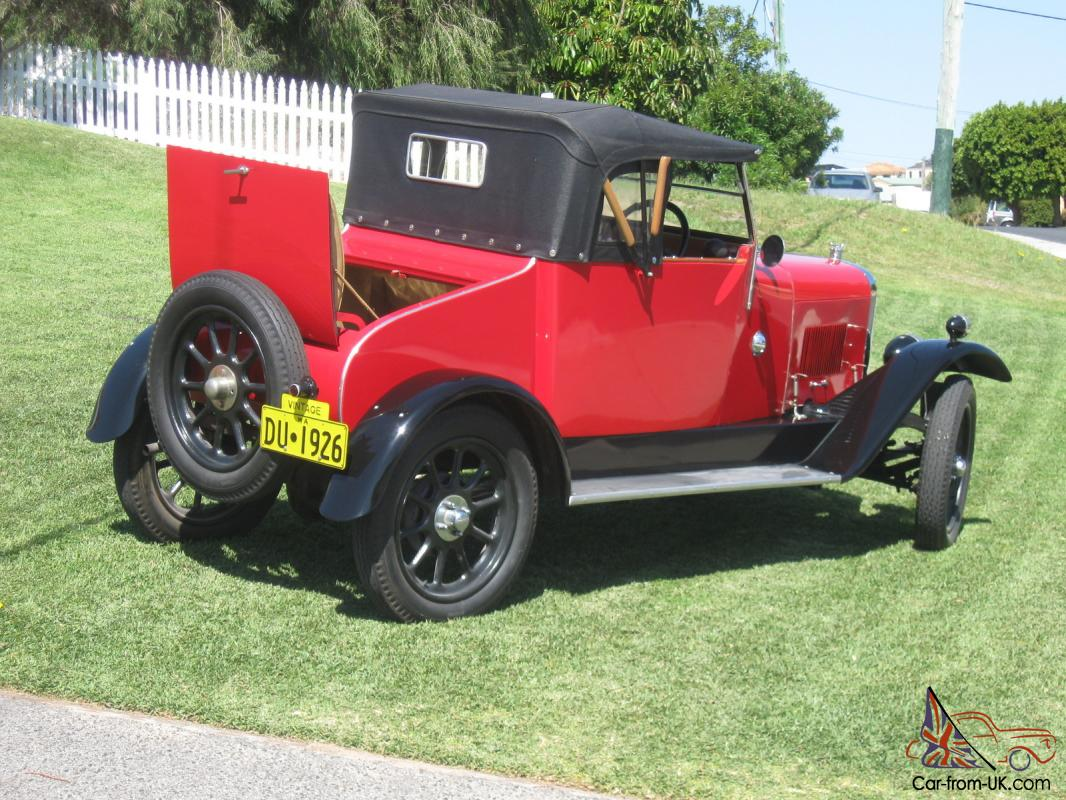 1926 Clyno Roadster