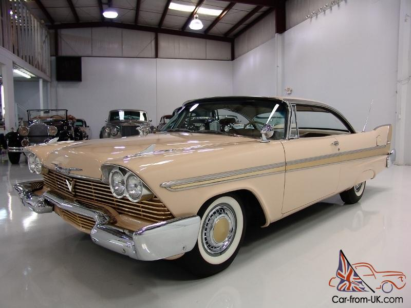 1958 plymouth fury 2 door hardtop 350 ci golden commando. Black Bedroom Furniture Sets. Home Design Ideas